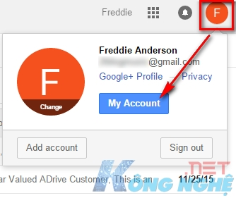 tạo tài khoản gmail